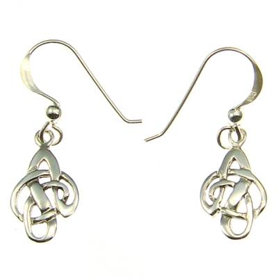 Celtic Silver Ear Hook (1 Pair)