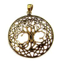 Bronze Pendant Tree of Life