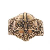 Bronze Ring Viking Helmet