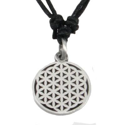 Pewter Pendant Flower of Life