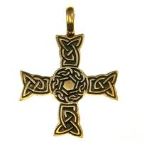 Bronze Pendant Celtic Cross