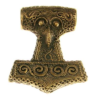 Bronze Pendant Big Thorshammer