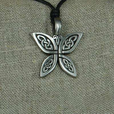 Pewter Pendant Celtic on Card