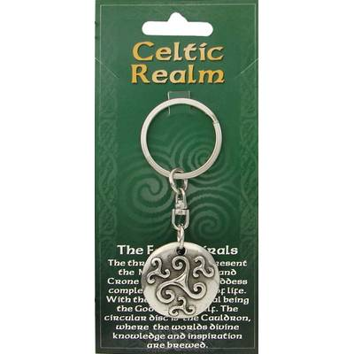 Keychain The Four Spirals