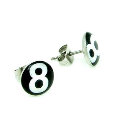 Stainless Steel Stud Earring 8