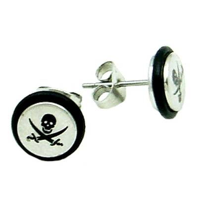 Stainless Steel Stud Earring Pirate